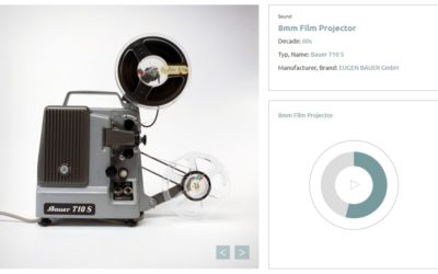 Conserve the Sound is an archive of noises from old tape players, projectors and other dying tech