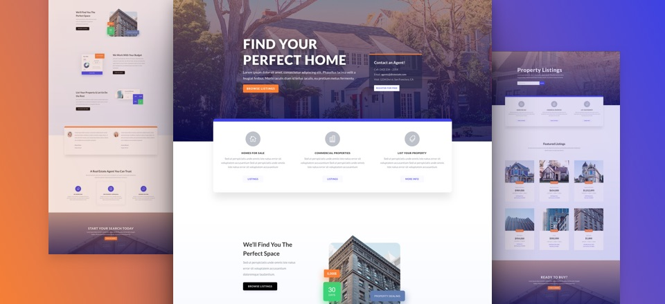 Get The Ultimate Real Estate Website Design